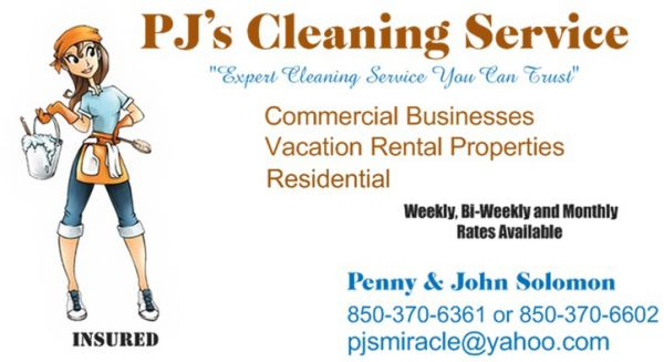 PJ's Cleaning Service