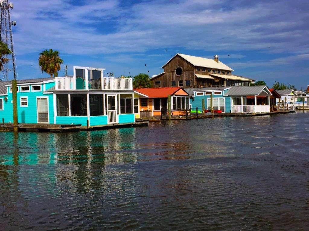 Houseboats At River Watch Apalachicola St George