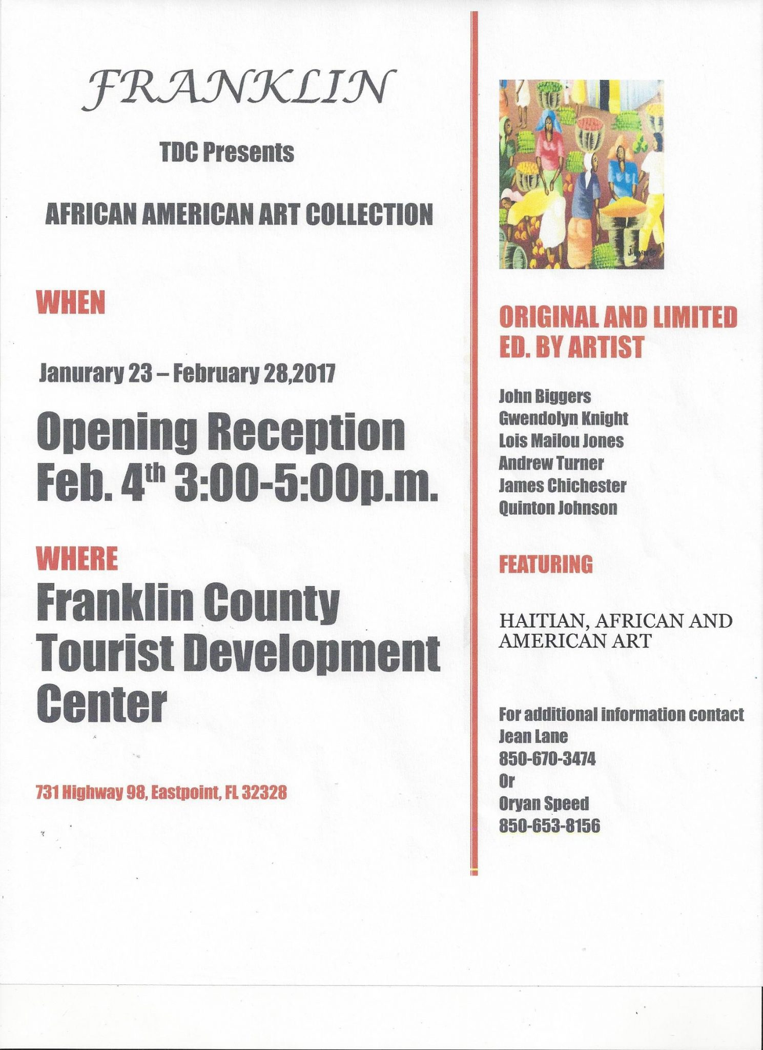 African American Art Show at EPVC