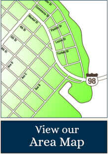 Apalachicola Area Map