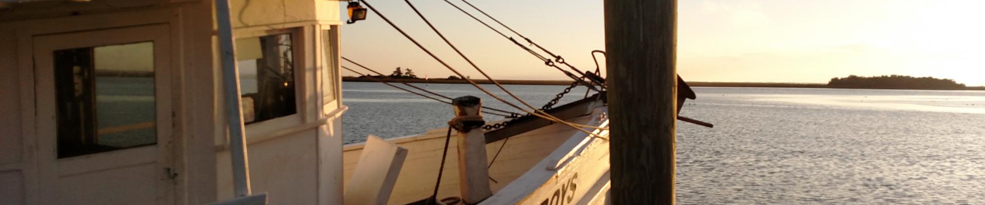 Apalach Shrimp Boat Sun slide