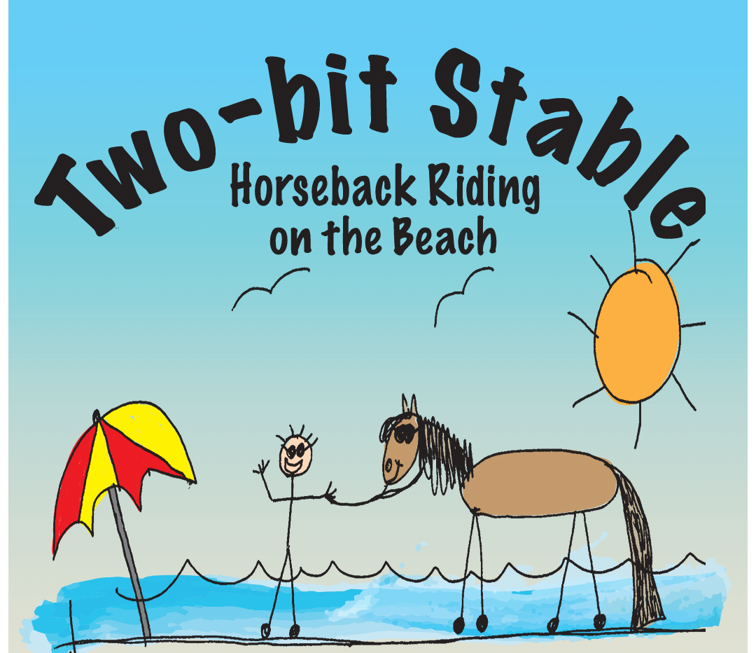 Two Bit Stable Horseback Riding on the Beach