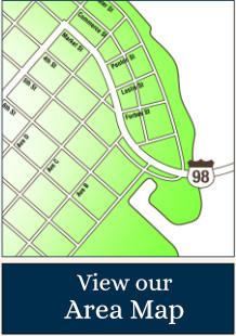 Apalachicola Area Map
